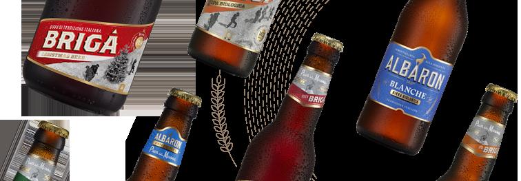 bottiglie birre biologiche